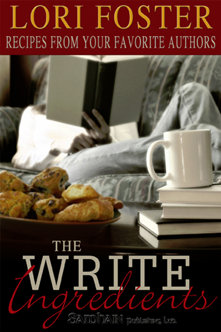 Cover Art for The Write Ingredients