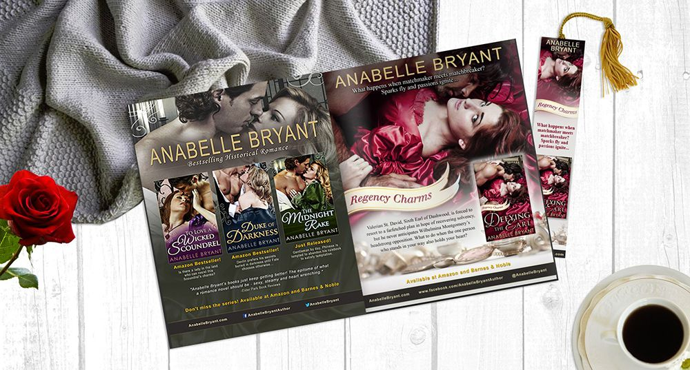 Author Anabelle Bryant Ad Design