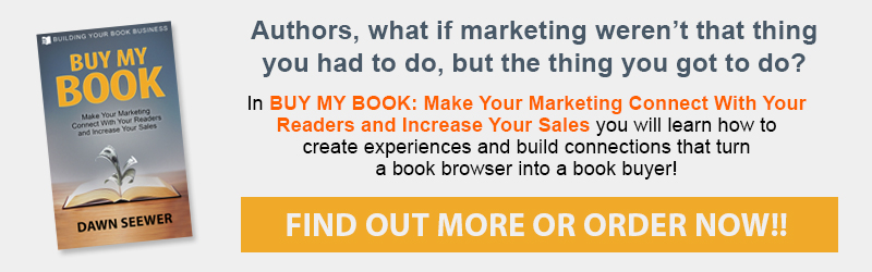 BUY MY BOOK: Make Your Marketing Connect With Your Readers and Increase Your Sales