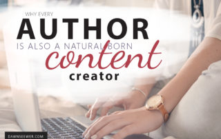 Why every author is also a natural born content creator