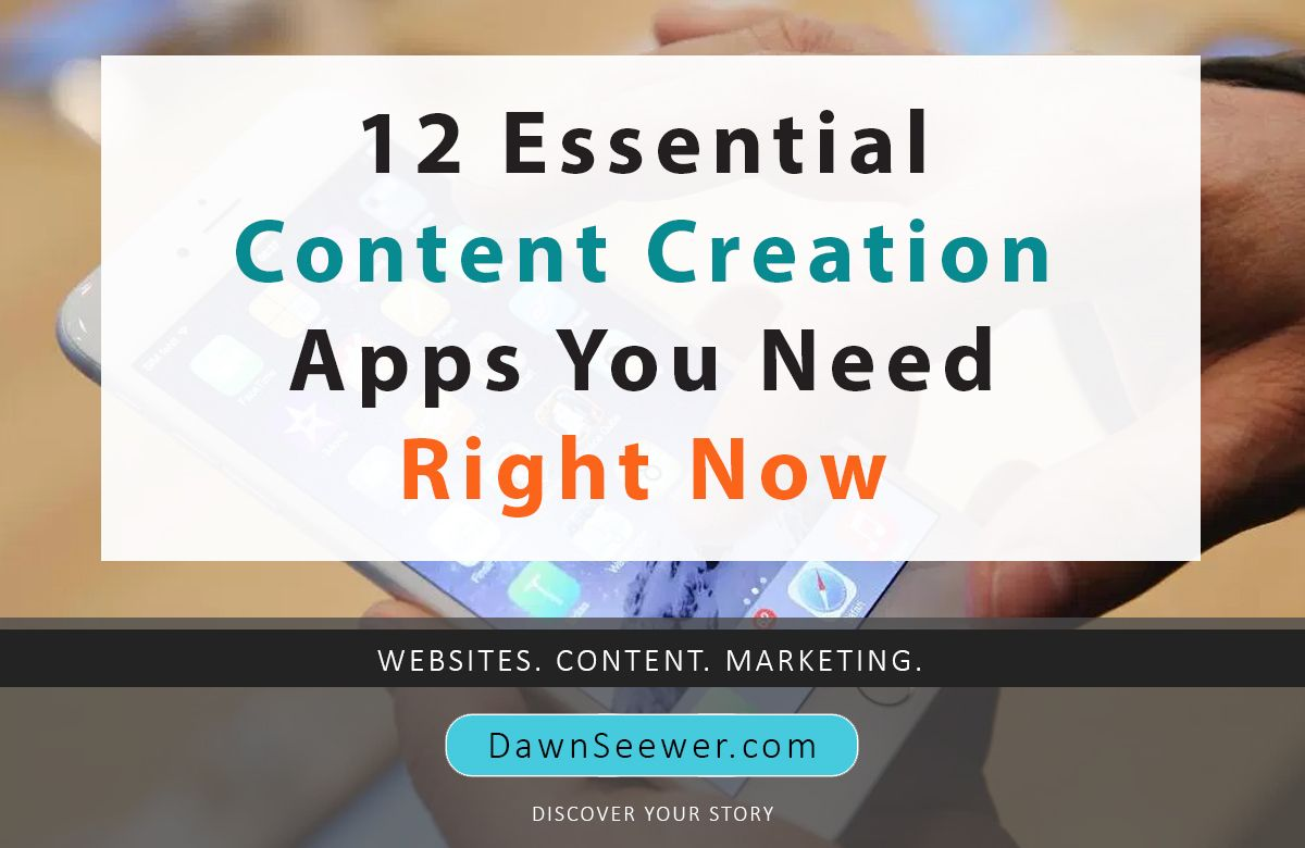 12 Essential Content Creation Apps You Need Right Now