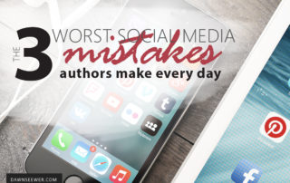 The 3 worst social media mistakes authors make every day
