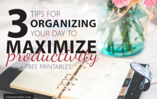 3 Tips for organizing your day to maximize productivity