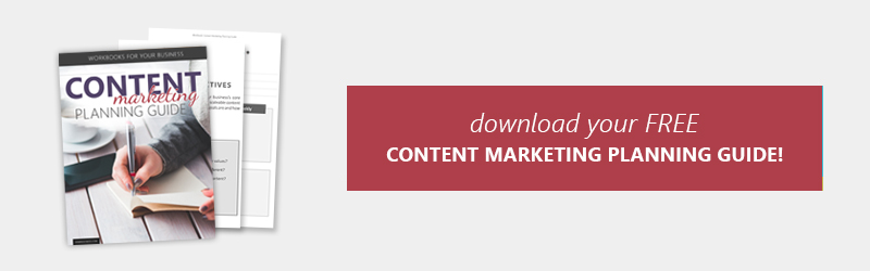 Download your FREE Content Marketing Planning Guide